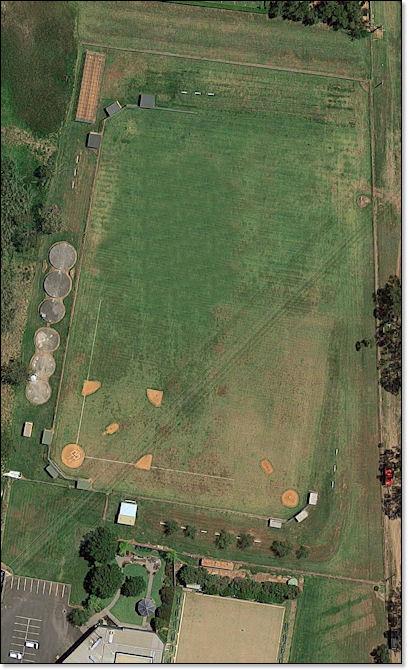 Sydney baseball field
